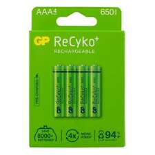 4 x GP Rechargeable AAA BT Graphite 1100 1500 2100 2500 3500 650mAh Battery- NEW