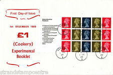 1969 Stamps For Cooks PSB - All Four Panes - Leeds CDS (Unlisted?)
