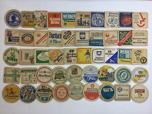 Vintage German Beer Coasters Lot Of 90