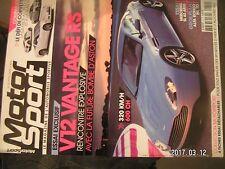 ** Motor Sport Magazine n°19 Aston Martin V12 Vantage RS Concept / Ferrari 412 i