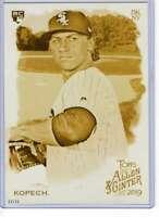 Michael Kopech 2019 Allen and Ginter 5x7 Gold #119 /10 White Sox
