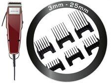 MOSER cortapelos profesional 1400 Edición 0,1mm-25mm + 6 PEINETAS Insertables
