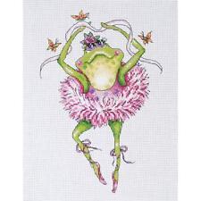 Design Works Cross Stitch Kit - Frog Dancer