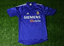Real Madrid SPAIN 2004 2005 FOOTBALL SHIRT JERSEY THIRD ADIDAS ORIGINAL SIZE S
