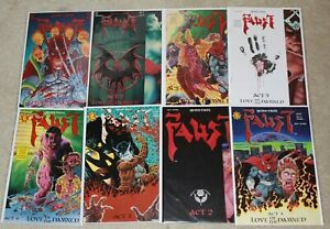 FAUST 1-8 Northstar  Love of the Damned 1st First Print comic lot  Near Mint