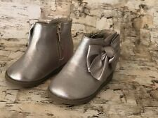 NEW Infant Girl Size 4 GARANIMALS Boots (Blush)
