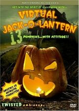 VIRTUAL JACK-O-LANTERN by TWISTED AMBIENCE: HAUNTED HALLOWEEN PUMPKINS PARTY DVD