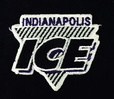 """Indianapolis Ice Vintage Embroidered Iron On Patch (Old Stock) 2.5"""" x 2"""" A1 Nice"""