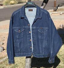 Long Haul Trucker Mens Denim Jacket Sz XXL 2Xl 100% Cotton USA