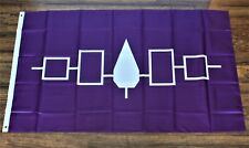 Iroquois Nation Banner Flag Native American Indian United Tribe Tribal New