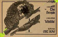 Mott The Hoople Wildlife Island Rec. LP Advert MM-HSBC
