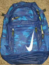 "boys blue Nike Vapor backpack school book bag 20""X13x5"""" large"