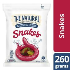 The Natural Confectionary Co. Snakes Lollies 260g