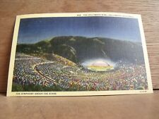 1930-40s America Postcard Hollywood Bowl Hollywood California Free UK Post