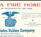 Eagle Fire Hose Eureka United States Rubber Co Philadelphia Business Trade Card