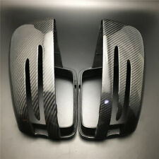 Rearview Mirror Cover Trim For Mercedes Benz G GLE GL ML GLS CLASS Carbon Fiber