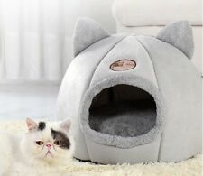 Cat Bed Cave Warm Nest House Little Basket For Dog Pet Indoor Tents Little Mat