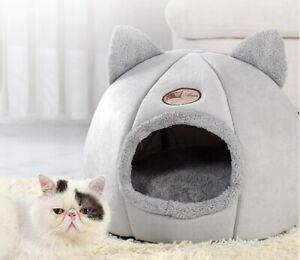 Cat Bed Cave Warm Nest House Little Basket For Dog Pet Indoor Tents Little Mat