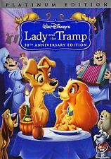 Walt Disney's Lady And The Tramp 50th Anniversary Platinum Edition 2-Disc DVD