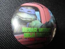 Vintage Button Pinback Badge Rare Teenage Mutant Ninja Turtles Movie 1990 Don