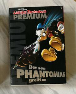 2 LTB Premium Nr 7 der neue Phantomias & 8 Micky Mistery Lustiges Taschenbuch