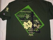 "NWT RARE 1996 CHAMPION NOTRE DAME ANNUAL FOOTBALL SHIRT ""THE SHIRT"" - SIZE XL"