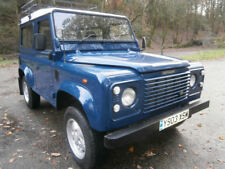 Land Rover Defender 90 Td5, 7 seater 2003  Solid throughout  Drives superbly