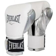 Everlast 12oz. Professional Powerlock Training Boxing Gloves in White/Silver
