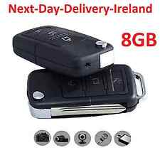 8GB USB Car Key Fob Remote Spy Hidden Camera Voice Wireless Video Recorder DVR
