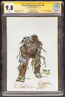 Teenage Mutant Ninja Turtles 95 CGC 9.8 SS Virgin signed / remarked Eastman TMNT