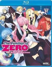 The Familiar of Zero: Rondo of Princesses - Season 3 w/OVA (Blu-ray,2-Disc) NEW