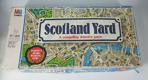 Vintage Scotland Yard A Compelling Detective Game 1985
