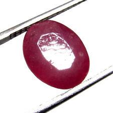 3.70Ct. Natural Oval Cut  Pink Madagascar (9X7X5MM) Ruby FREE STONE BOX-CH 7002
