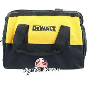 "DeWALT 12"" Heavy Duty 20V 12V Contractor Storage Case Drill Impact Tool Bag"