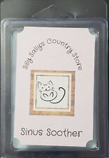 Hand Poured Sinus Soother Menthol Soy/Paraffin Blend Wax Tart