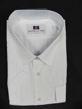 Double TWO Machine Washable Regular Formal Shirts for Men