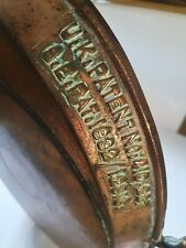 More details for antique holcroft  pan as found 1932