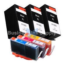 6 PACK 920XL New GENERIC 920 Ink for HP Officejet 6000 (E609) 6500 (E709 E710)