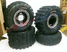 DWT G2 Beadlock Wheels CST Pulse Tires Front/Rear Kit Suzuki LTR450 LTZ400 Z400