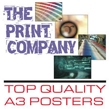 50 x A3 Poster printing onto 120gsm paper
