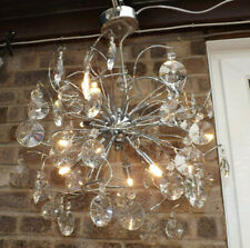 More details for abstract sputnik style crystal ceiling chandelier by maison