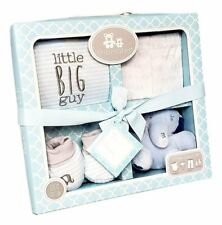 4 Piece Boxed Infant Gift Set Pink Blue