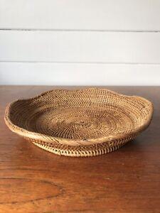 Vintage Papua New Guinea Buka Basket Small Bowl/Dish