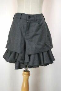 JUNYA WATANABE COMME des GARCONS Gray Wool Skirt 406 8118