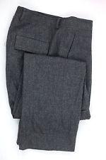 Men's DKNY Donna Karan Gray Cargo Wool Pants Defect --No Label-- Measure 36x30