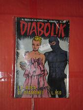 DIABOLIK ANNO V-5° -N° 26-a-DEL 1966- ROSA DEI DIAMANT-GIALLO A FUMETTI ASTORINA