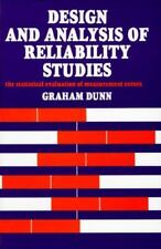 Design and Analysis of Reliability Studies: The Statistical Evaluation-ExLibrary