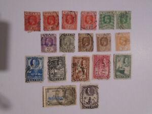 Nigeria George V study collection