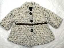 CORKY & COMPANY GIRLS ADORABLE BABY/TODDLER BEIGE COAT SIZE 18 MONTH