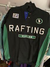 Polo Ralph Lauren Green Big Pony Shirt Custom-Fit Rafting River Slalom L L